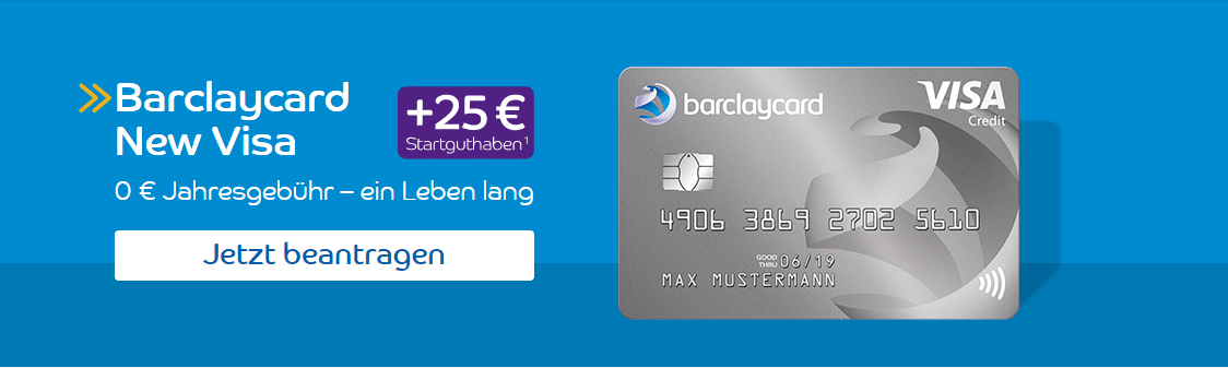 Kreditkarten ohne Girokonto