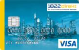 Die 1822direkt Visa Kreditkarte