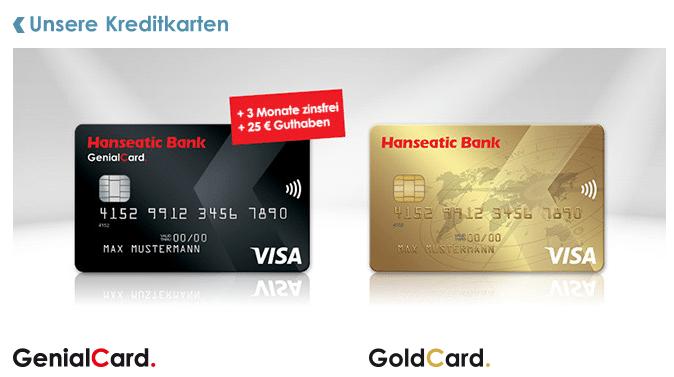 Hanseatic Bank Kreditkarten