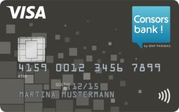 Die kostenlose Consorsbank Visa-Card