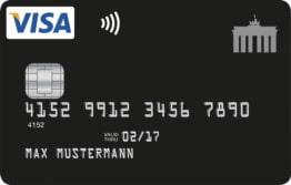 Die Deutschland Kreditkarte als Visa-Card