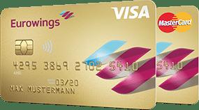 Das Eurowings Kreditkarten Doppel Gold
