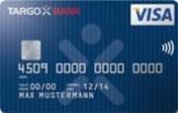 Die kostenlose Visa Kreditkarte der Targobank