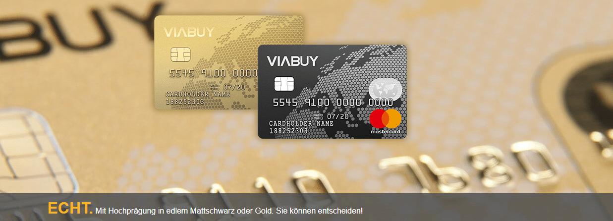 viabuy kreditkarte gebühren
