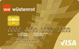 Die Wüstenrot Visa Gold Kreditkarte