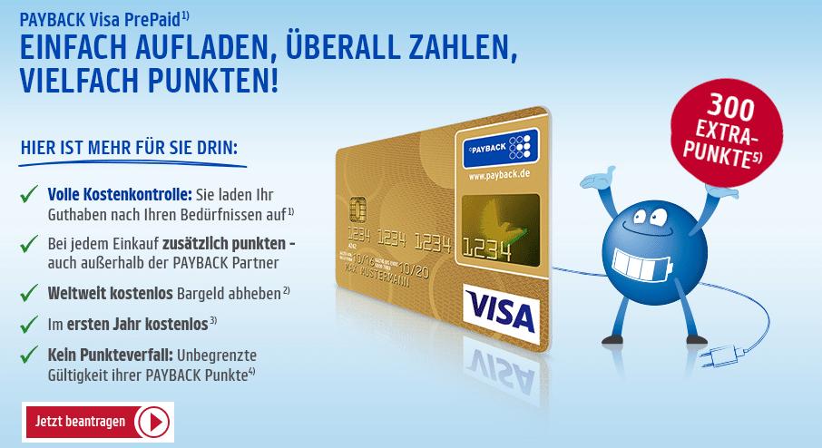 payback prepaid kreditkarte test
