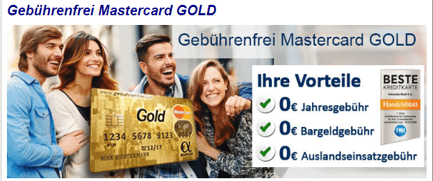 kostenlose kreditkarte mit versicherungen