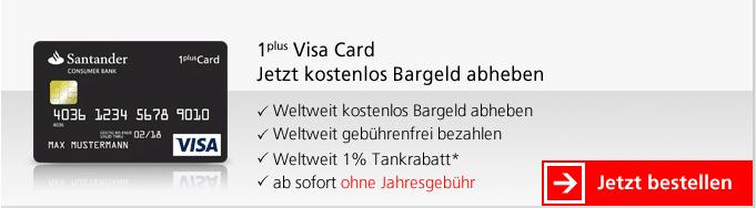 Kreditkarte ohne Girokonto test