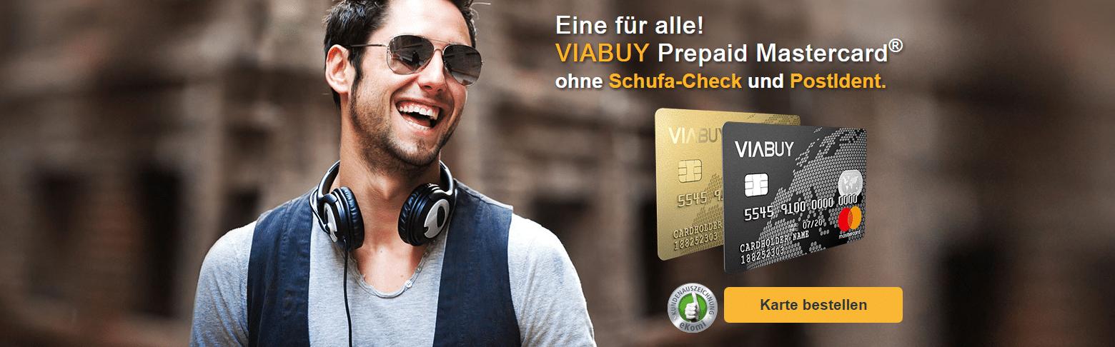 Kreditkarte ohne Postident
