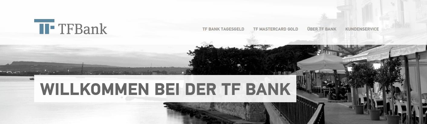 Die TF Bank ist ein Kreditinstitut aus Schweden.